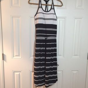 Athleta Maxi Dress Stripe XS UBB
